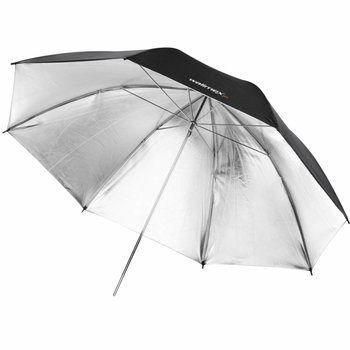 walimex pro Reflectie Studio Paraplu zwart / zilver 2 lagen, 109cm