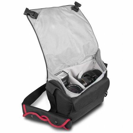 mantona Cool Bag Camera Bag black/red