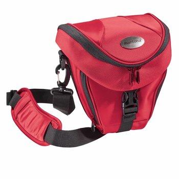 mantona Camera Bag Holster Premium Bag, Red
