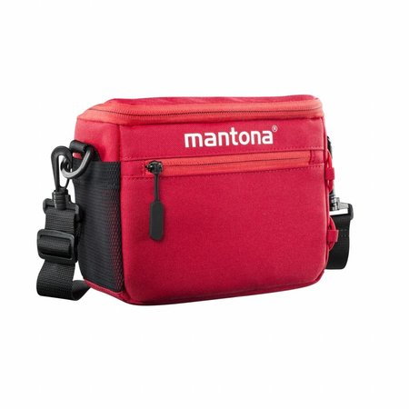 mantona Irit system camera bag red