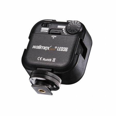 walimex pro LED-Videoleuchte 36 LED dimmbar
