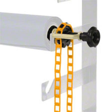 walimex Background Expan + Chain & Weight, orange