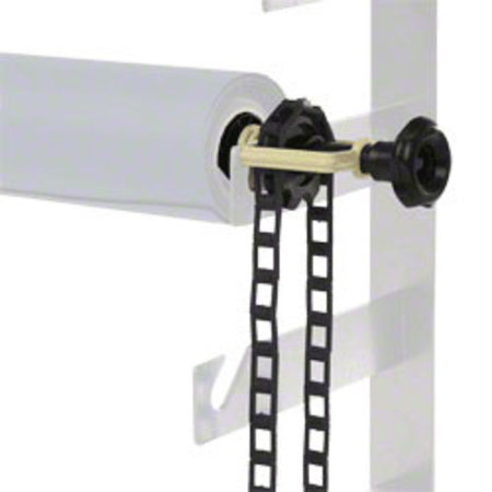 walimex Background Expan + Chain & Weight, Black