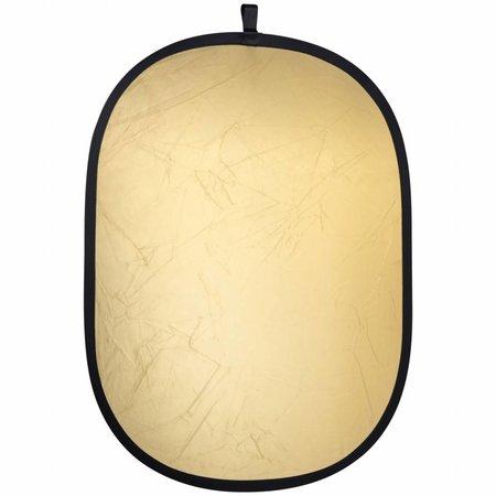 walimex Opvouwbare Reflector Set, goud/zilver 102x168cm