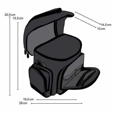 mantona Fototasche Premium sand/schwarz