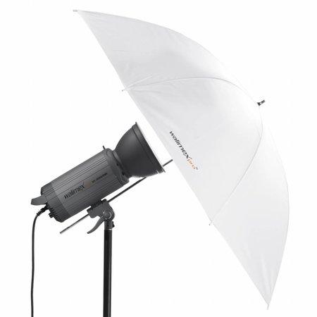 walimex pro Durchlichtschirm weiß, 150cm
