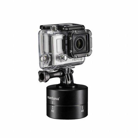 mantona Turnaround 360 Statiefkop voor GoPro