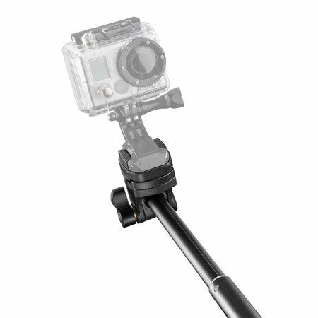 mantona Handstativ Selfy schwarz für Iphone