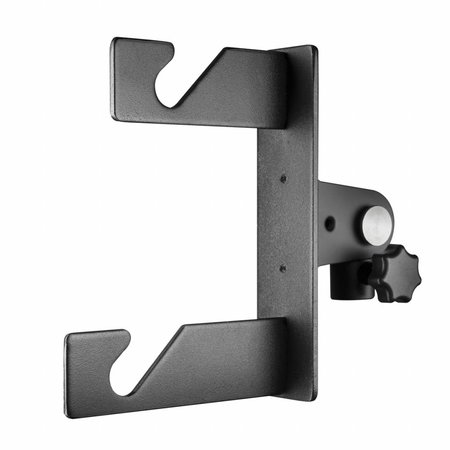 walimex 2-fold Background Hook f. Spigot, set of 2