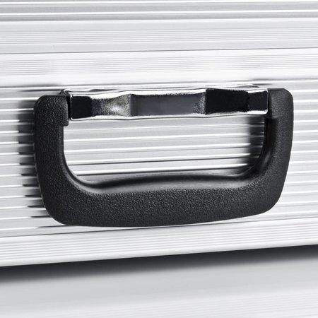mantona Koffer Basic M Aluminium