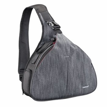 mantona Camera Bag triangel grey