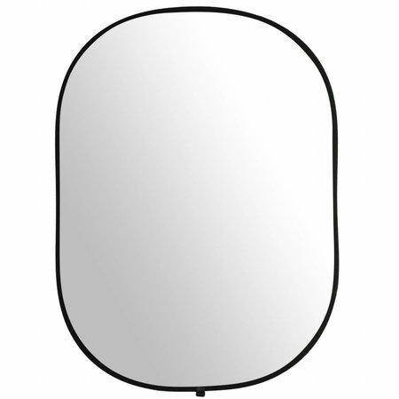 walimex Achtergrond Opvouwbaar  2in1 Zwart/Wit, 145x200