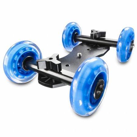 walimex pro DSLR Kamerawagen Dolly Mini Quad