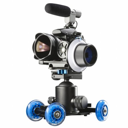 walimex pro Mini Dolly voor DSLR