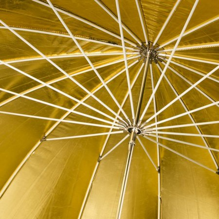 walimex Reflex Umbrella black/golden, 150cm