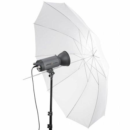 walimex pro Reflex 2in1 - Durchlichtschirm weiß 150