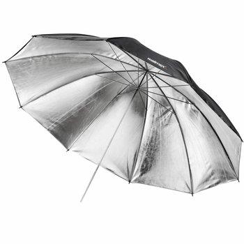 walimex pro walimex pro Reflectie Studio Paraplu Zwart/zilver 2laags 150cm