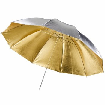 walimex pro Reflex Umbrella 2in1 golden/silver, 150cm