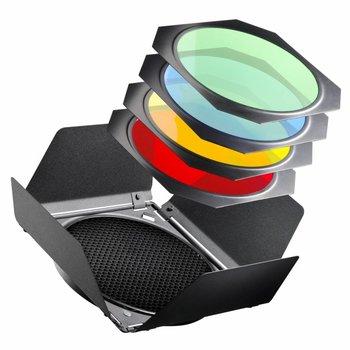 walimex pro Barndoors/Honeycombs/Colour Filter Set