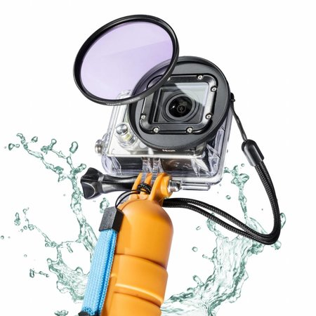 mantona GoPro underwater filter set 58mm