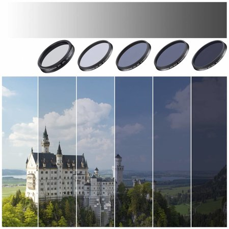 walimex pro Camera Filter Set voor DJI Inspire 1 (X3)/Osmo