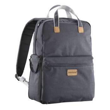 mantona Photo Backpack Urban metgezel & tas 2 in 1