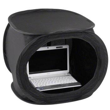 walimex Pop-Up Laptop Light Cube 50x50x50cm super zwart