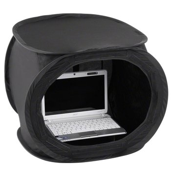walimex walimex Pop-Up Light Cube Laptop 50x50x50cm super Zwart