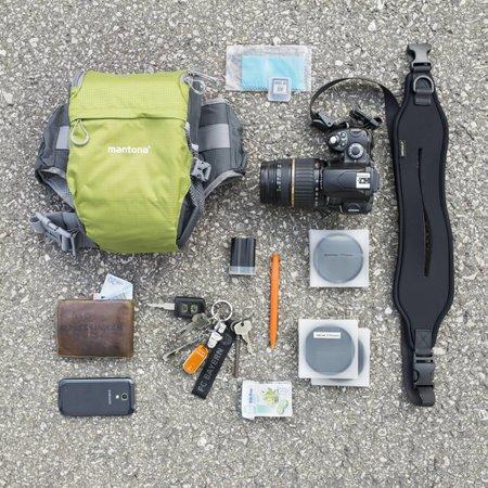 mantona Cameratas Elements Pro 10 groen