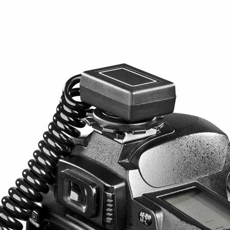 walimex 2-fach Spiral-Blitzkabel Panasonic