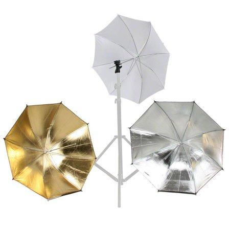 walimex Flash and Umbrella Holder Set, 4 pcs.