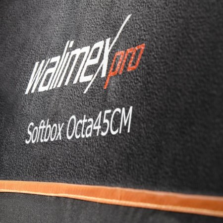 walimex pro Octagon Softbox Orange Line 45