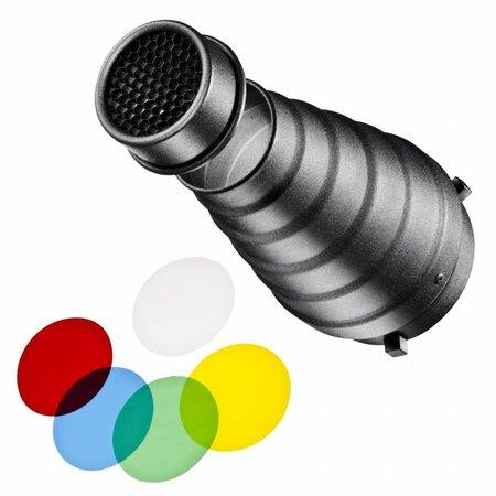 walimex Univ. Conical Snoot Set für verschiedene marken