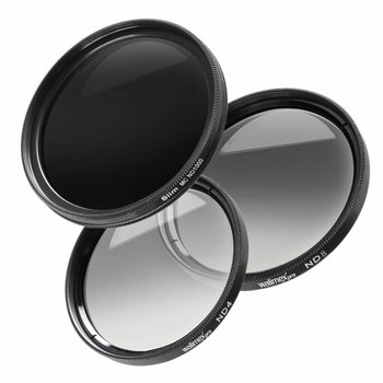 walimex pro grey filter complete set 58 mm