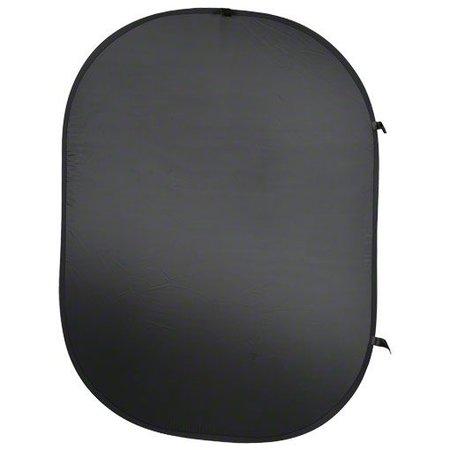 walimex Opvouwbaar Achtergrond Zwart, 150x200cm