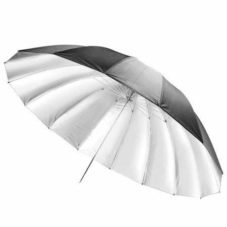 walimex Reflex Umbrella black/silver, 180cm