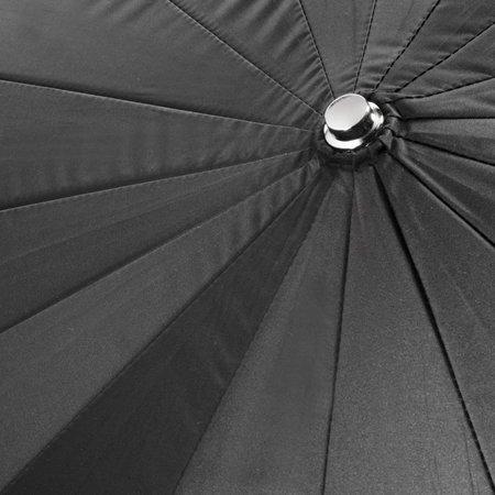 walimex Reflexschirm schwarz/silber, 180cm