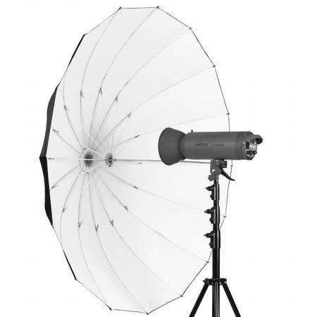 walimex Reflexschirm schwarz/weiß, 180cm