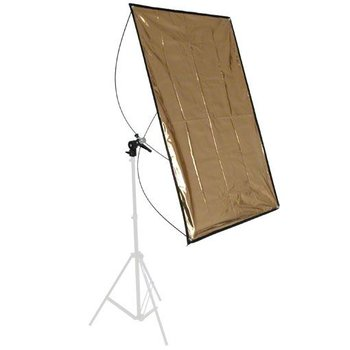 walimex Reflector Panel silver/gold, 70x100cm