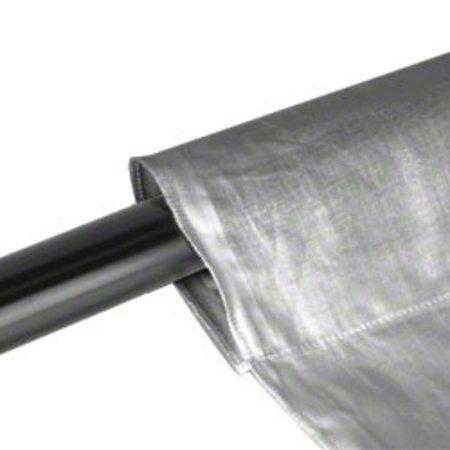 walimex Achtergronddoek  2,85 x6m, grijs