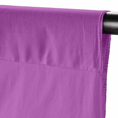 walimex Achtergronddoek 2,85x6m, rose violet