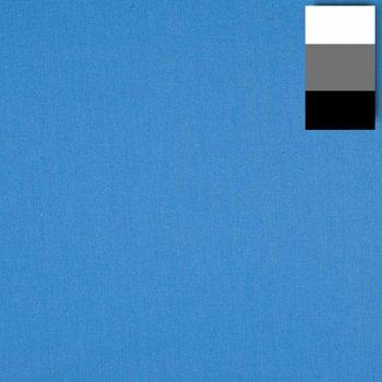 walimex Achtergronddoek 2,85x6m, blithe Blauw