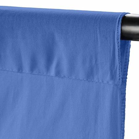 walimex Achtergronddoek 2,85x6m, vista blue