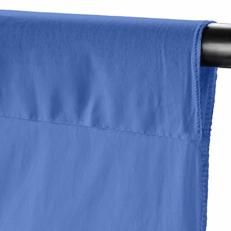 walimex Cloth Backgr. 2,85x6m, vista blue