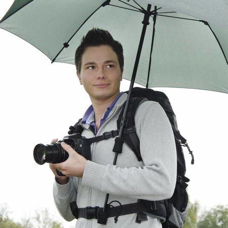 walimex pro Swing handsfree Umbrella olive