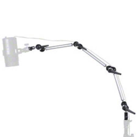 walimex Flexibele uitbreiding Arm met 2 Spigots, 80cm