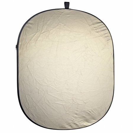 walimex Reflector 2 in 1 Foldable wavygold/white