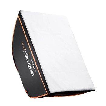 walimex pro Softbox Vierkan OL 50x70cm | Diverse merken Speedring