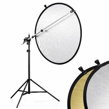 walimex Reflectiescherm Houder Set Zilver/Goud, 100cm