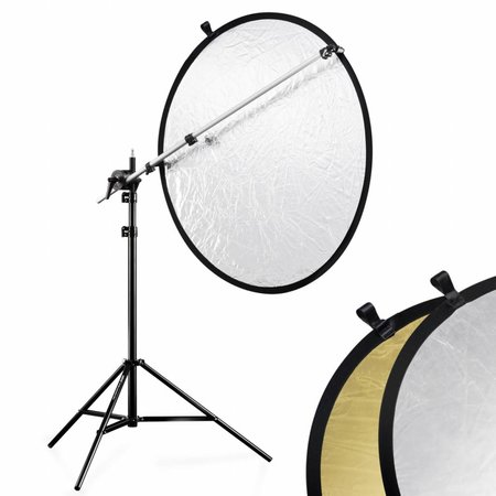 walimex Reflector Holder Set silver/gold, 100cm